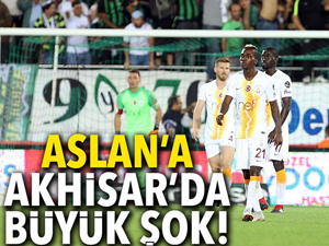 Akhisarspor: 3 - Galatasaray: 0