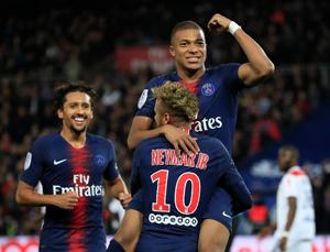 Paris Saint Germain: 5 - Lyon: 0