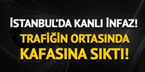 İstanbul'da bir kişi aracında vurularak öldürüldü!