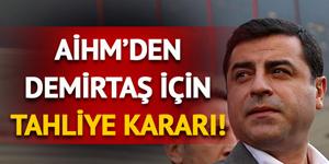 AİHM'den Selahattin Demirtaş için tahliye kararı