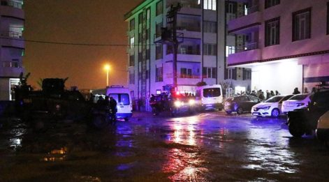 Batman'da hücre evi baskınında çatışma: 1 polis şehit