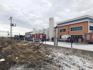 Kırıkkale Organize Sanayi Bölgesi'nde patlama: 1 ölü, 2 yaralı