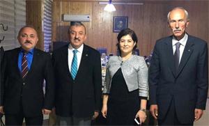 MHP'li Çankırı Belediye Başkan aday adayları birarada