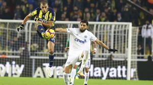 Fenerbahçe: 2 - Kasımpaşa: 2