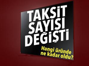 BDDK açıkladı: Televizyon alımında taksit sayısı artırıldı