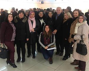 İYİ Parti Belediye Başkan adayı 'Baba Raif' Çankırı'da
