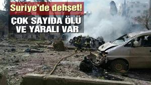 Suriye'de intihar saldırısı! 9 ölü, 37 yaralı