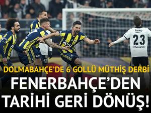 Beşiktaş: 3 - Fenerbahçe: 3