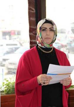 Çankırı Belediyesi'nde ilk istifa Hacer Rukiye Yıldırım'dan geldi