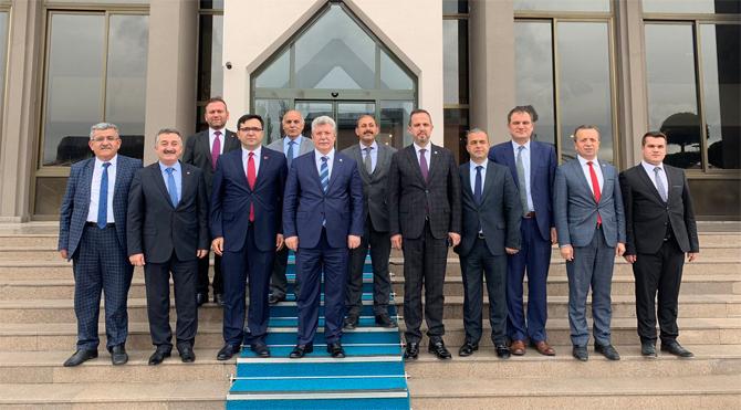 'Çankırı'ya yapılacak yatırımlar'ın konuşulduğu masada neden MHP'li belediye başkanları yok?
