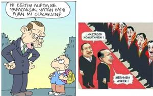 Balıkesir'de hukuk skandalı! İnşaat işçisine karikatür paylaşımı cezası verildi!