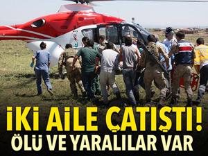 Diyarbakır'da iki aile çatıştı! Ölü ve yaralılar var
