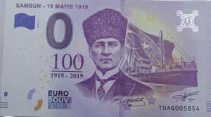 100'üncü yıl hatıra parası böyle olur
