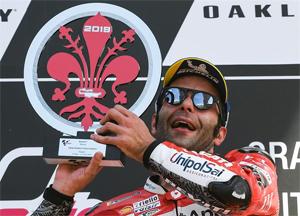 Danilo Petrucci ilk MotoGP zaferini kazandı