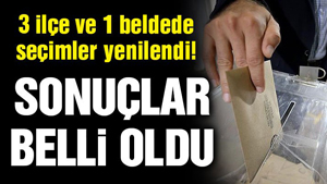 Honaz, Yusufeli, Keskin ve Kesmetepe'de seçim sonuçları belli oldu!