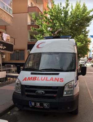 Çankırı'da 'ambulans' böyle yazılır!