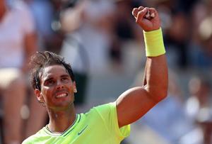 Rafael Nadal 12'nci kez Roland Garros'ta finalist