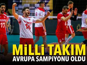 Türkiye CEV Erkekler Altın Ligi'nde şampiyon oldu! Efeler'den tarihi başarı…