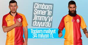 Galatasaray Jimmy Durmaz ve Şener'i KAP'a bildirdi