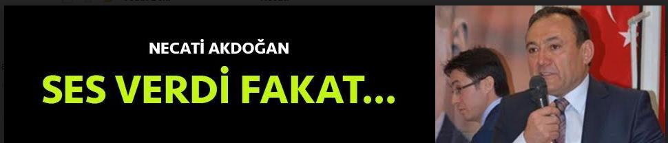 Necati Akdoğan'dan ses var ama...