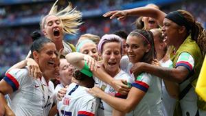 FIFA Kadınlar Dünya Kupası ABD'nin