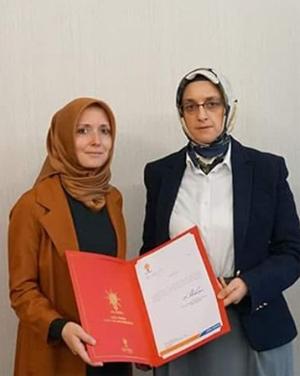 AKP Çankırı'ya Kadın Kolları Başkanı atandı!