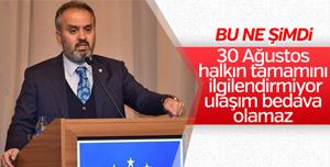 AKP'li Alinur Aktaş'dan skandal '30 Ağustos' yorumu!