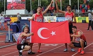 Avrupa U20 Atletizm Şampiyonası'nda muhteşem zafer! Altın madalya Türkiye'nin!