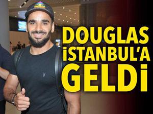 Kartal'ın yeni transferi Douglas İstanbul'a geldi