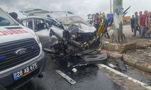 Giresun'da trafik kazası: 3 ölü