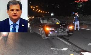İYİ Parti Mersin milletvekili Zeki Hakan Sıdalı'nın otoyolda çarptığı yaya öldü