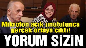 Türk-İş Başkanı 200 bin kamu işçisinin ekmeğini çalarken kameralara yakalandı!