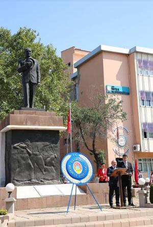 Atatürk'ün Çankırı'ya gelişinin 94'üncü yıldönümü kutlandı