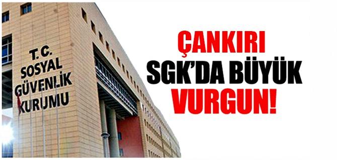 Çankırı SGK'da çalışan personel 'emekli edeceğim' vaadi ile vatandaşları 800 bin lira çarptı!
