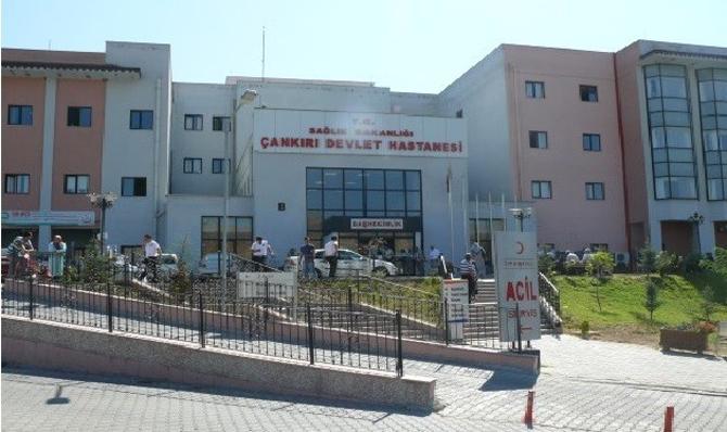 Çankırı Devlet Hastanesi personeli yedikleri 'tantuni'den zehirlendi!