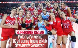 Filenin Sultanları, Polonya'yı 3-1'le geçerek finale yükseldi