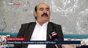 Osman Öcalan'ı TRT'ye çıkartmak 'ifade özgürlüğü'