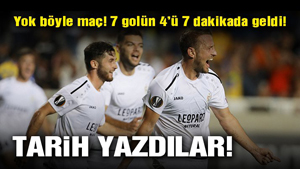 Dudelange, APOEL deplasmanında 7 gollü maçta tarih yazdı!