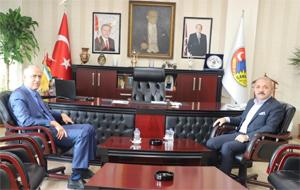 Vali Aktaş'dan Başkan Esen'e ziyaret