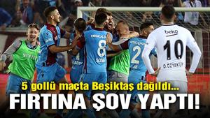 Trabzonspor: 4 - Beşiktaş: 1
