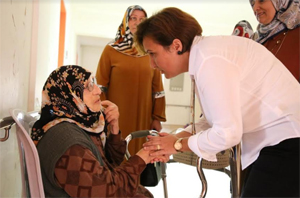 Dünya Yaşlılar Günü'nde Huzurevi'ne anlamlı ziyaret
