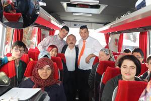 Başkan Esen'den 'özel çocuklar'a Altınköy gezisi
