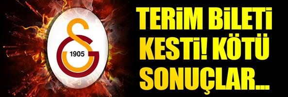 Galatasaray'da Fatih Terim düğmeye bastı ve...