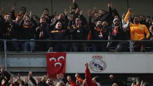 Galatasaray Real Madrid maçında taraftardan takıma büyük tepki