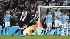 Newcastle United: 2 - Manchester City: 2