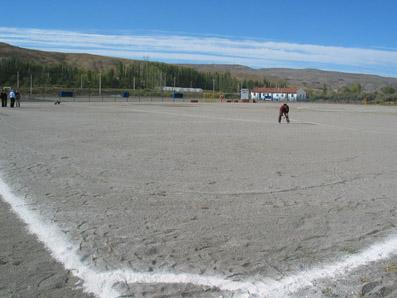 Ballıca Stadının çimlendirilmesine son dakika müdahalesi!