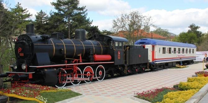 Çankırı'daki Tren Kütüphane yeni yerine taşınıyor!