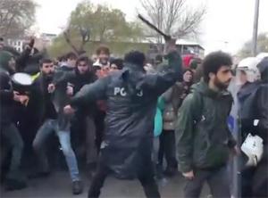 Öğrencilere acımasızca saldıran cani polis hakkında flaş karar!