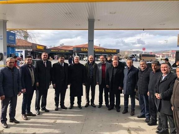 İçişleri Bakanı Süleyman Soylu Ilgaz'da