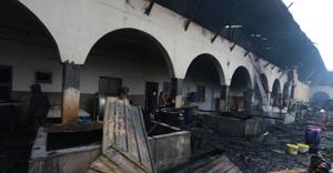 Tokat'ta tarihi bina yanıyor!